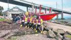 RNLI Kessock volunteer lifeboat crew.
