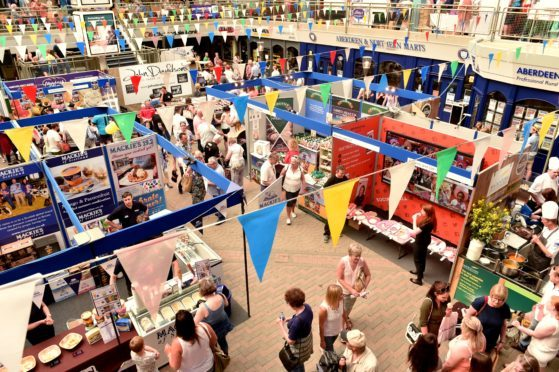 It's not just food and drink on offer at Taste of Grampian.
