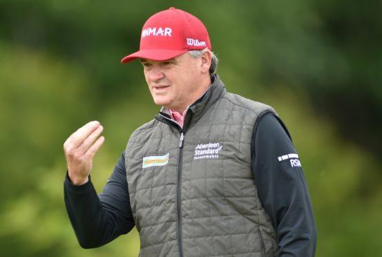 Paul Lawrie on the golf course