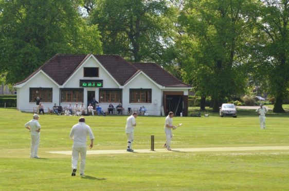 Picture credit: Forres St. Lawrence Cricket Club