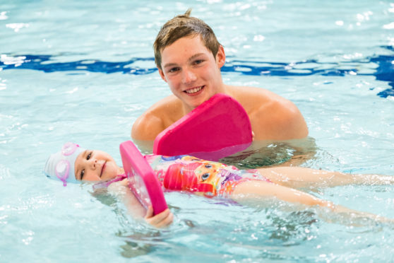 Commonwealth Swimmer Aiding Highland Pre School Swimming Classes Press And Journal