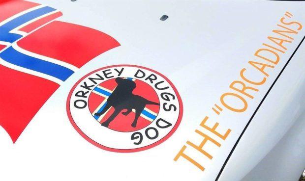 Orkney Drugs Dog