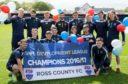 Ross County won the penultimate Development League in 2016-17.