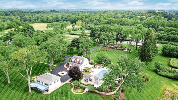 This 81-acre property in Berrien Springs, Michigan was home to Muhammad Ali and his family.