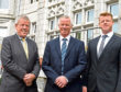 The owners of the Atholl Hotel, Kingsgate, Aberdeen - Gordon Sinclair, Gordon Nicoll and Richard Nicoll.