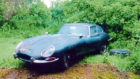 1962 Jaguar E-Type found gathering dust in a Scottish barn and sold for £70,000 at auction. July 2018