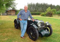 Your Car: Mike Robinson,  with his 1933 MG J2. Picture by Jim Irvine