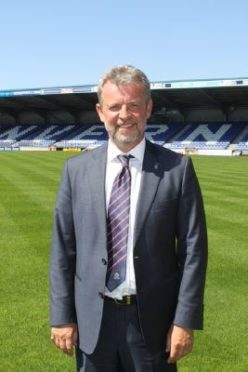 New Caley Thistle director Ross Morrison.