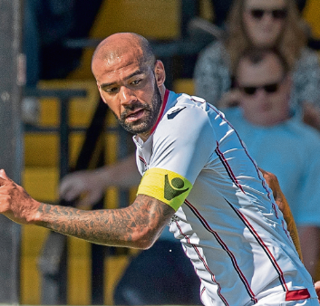 Ross County vice-captain Liam Fontaine.