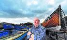 Fisherman Jim Adam at Cove Harbour