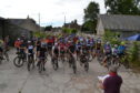 180 riders took part