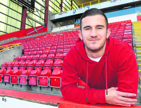 Aberdeen FC's Dominic Ball. Picture by Chris Sumner