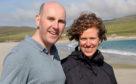 Ellen Weir and her husband Alastair Weir