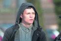 Carlton Tebbs, 22, outside Manchester crown court.