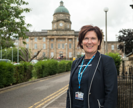 Amanda Croft, acting chief executive of NHS Grampian