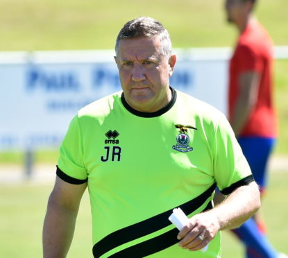 Caley Thistle boss John Robertson.