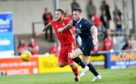 Stevie May scored Aberdeen's equaliser