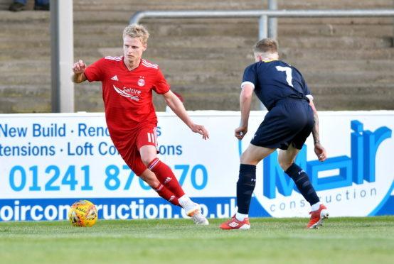 Gary Mackay-Steven scored twice for Aberdeen