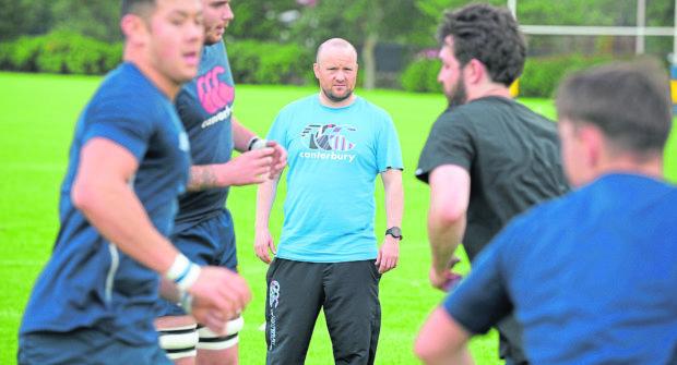 Gordonians coach Ryan Morrice.