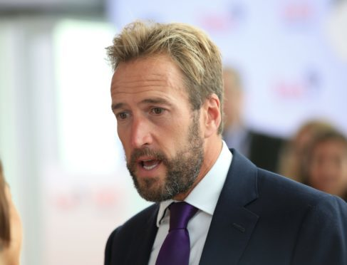 Photo of Ben Fogle arriving for a Time For Change event organised by the conservation charity Tusk at the Shard, London
