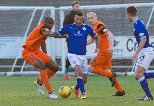 Derek Lyle joined Peterhead after being released by Queen of the South.