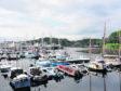 Stornoway yacht marina.