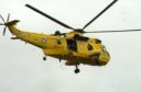 Sea King helicopters were stationed at RAF Lossiemouth until 2015.