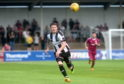 Sutherland had 11 goals in 20 games for Elgin City this season.