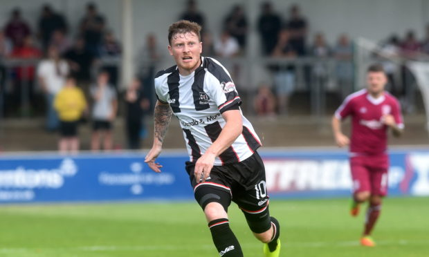 Elgin City's Shane Sutherland.