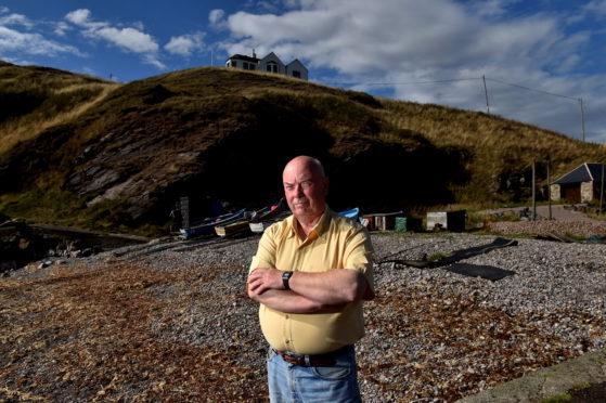 Jim Adam at Cove Harbour