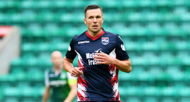 Don Cowie won the Challenge Cup with ROss County in 2006.