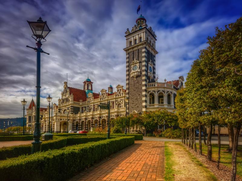 New Zealand - Dunedin Rail Station