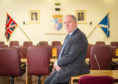 Former Moray Council leader George Alexander.