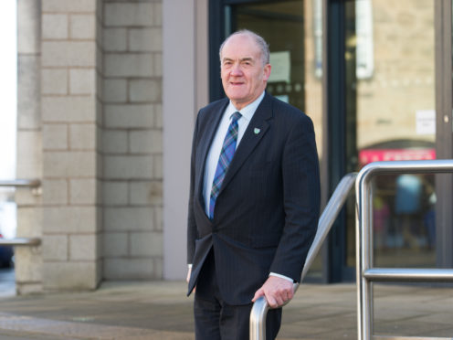 Forres councillor George Alexander has praised the work done by staff.