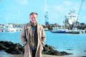 Director Jon Baird in Peterhead