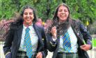 Athletes Anisha and Rhia Badial.       Picture by Kami Thomson