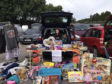 Megan Kemp raised £90 for projects in Kenya by holding a car boot sale.
