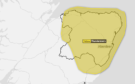 The Met Office has issued a yellow weather warning for thunderstorms across the region.