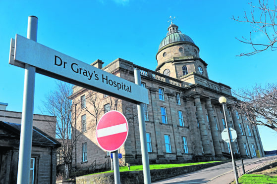 Dr Gray's Hospital, Elgin.