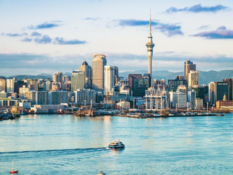 New Zealand - Auckland Skyline
