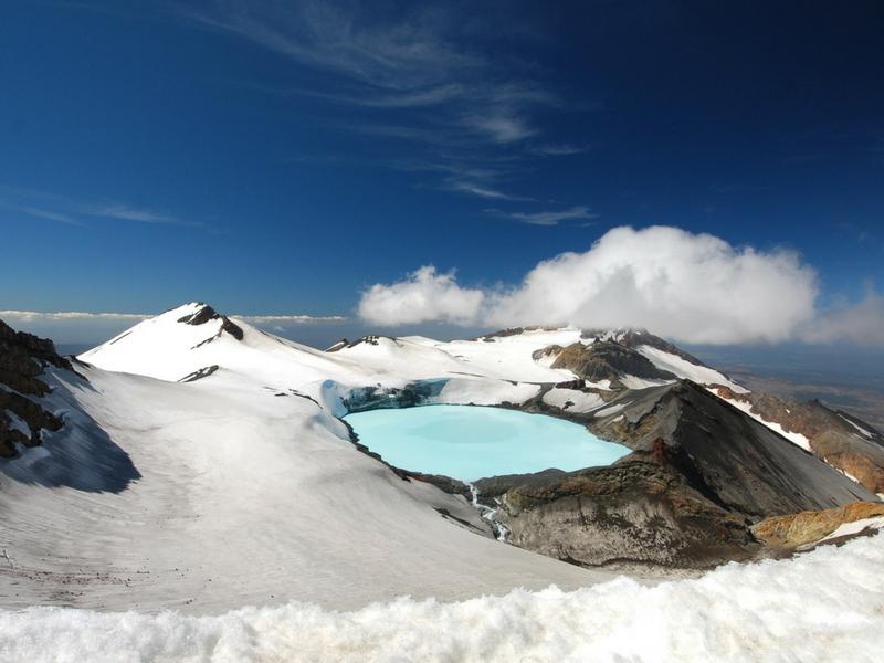 New Zealand - Ohakune Mount Ruapehu