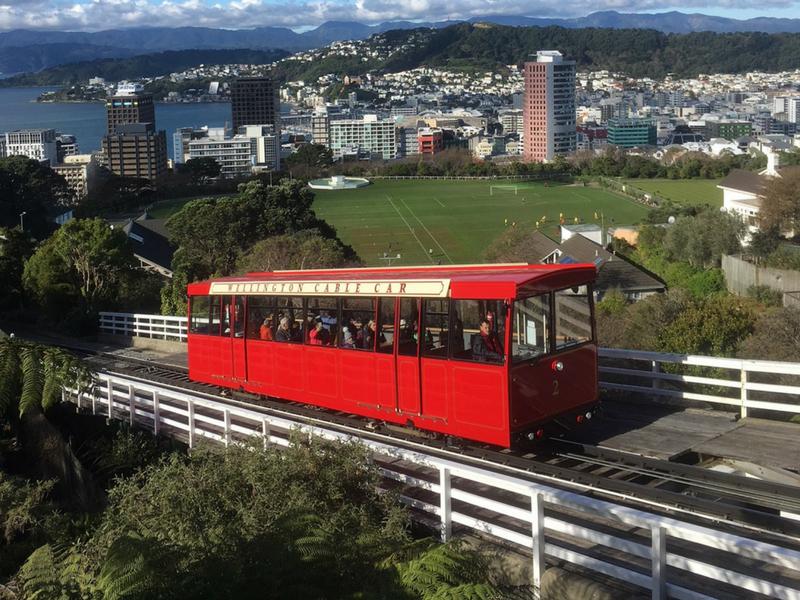 New Zealand - Wellington Cable Car