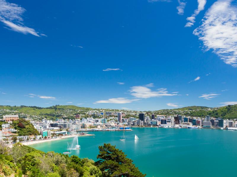 New Zealand - Wellington Harbour
