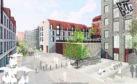 Artist impression New images showing plans for Aberdeen's Broadford Works