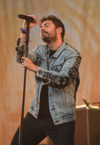 You Me at Six perform on the Garden stage