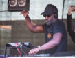 Actor, music producer and DJ Idris Elba at Groove on Saturday. Picture by Jason Hedges