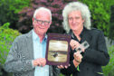 Prof Roger Taylor and Brian May are giving a talk to launch a new book about pioneering Aberdeen photographer George Washington Wilson at The University of Aberdeen. Picture by Kenny Elrick.