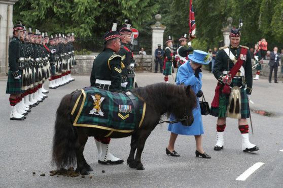 Queen Elizabeth begins Balmoral break. (Picture: Andrew Milligan/PA Wire)