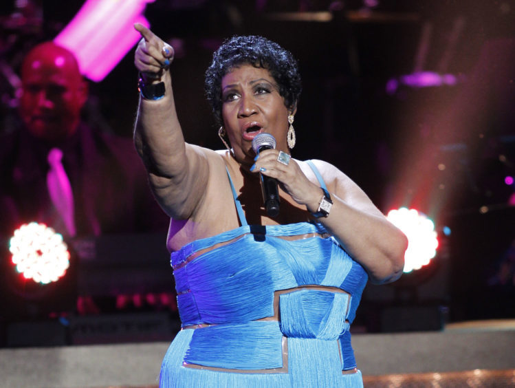 The singer performs during the BET Honors at the Warner Theatre in Washington. (AP Photo/Jose Luis Magana)