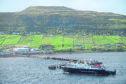 The Caledonian MacBrayne ferry.